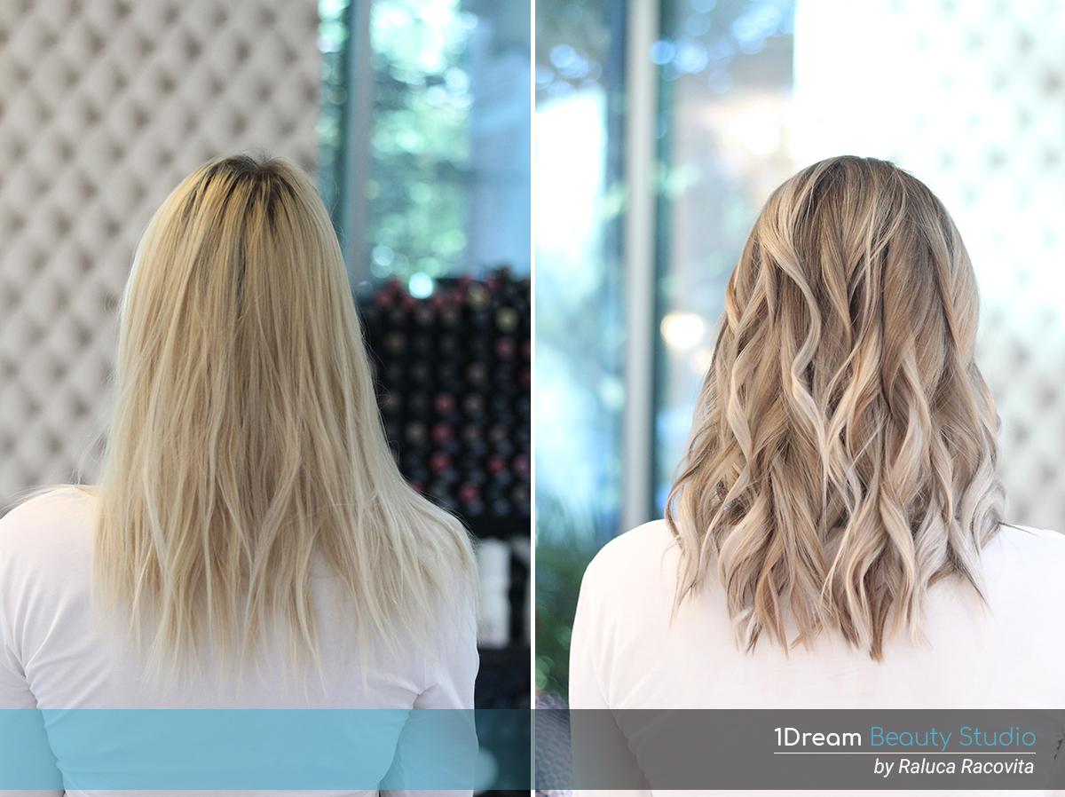 Vopsit-Balayage suvite blonde