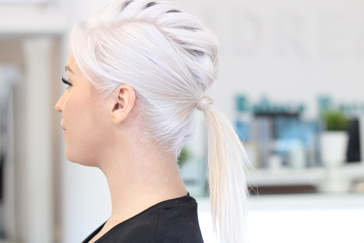 decolorare par blond