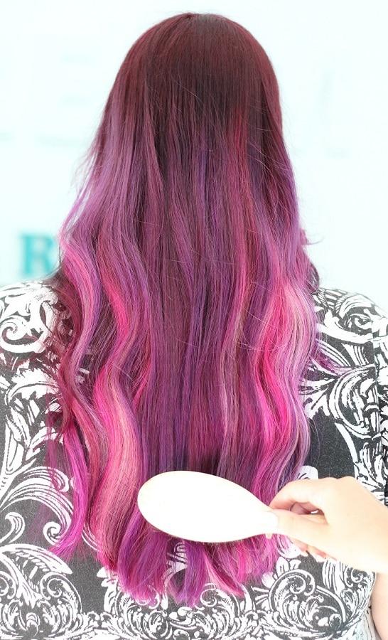 coafuri par pink